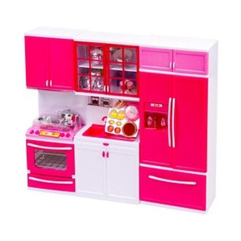 Elemes minikonyha hűtőszekrénnyel   KP JÁTÉK