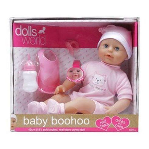 Baby Boohoo könnyező lány baba - 46 cm | KP JÁTÉK